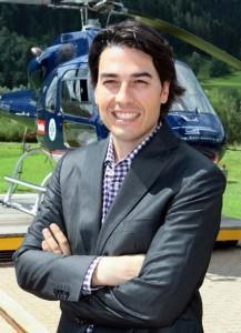 Roy Knaus ist Geschäftsführer von Heli Austria.